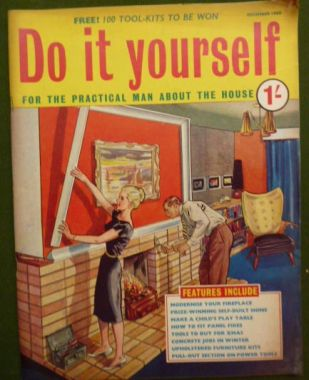 priory antiques do it yourself magazine dec 1960. Black Bedroom Furniture Sets. Home Design Ideas