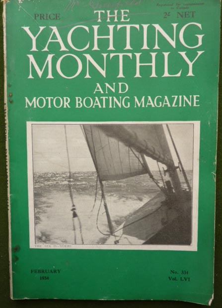Priory Antiques Yachting Monthly And Motor Boating Magazine